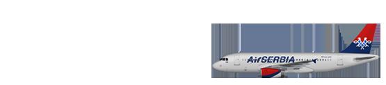 Air Serbia A319
