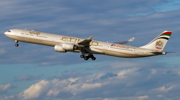 Avion avio kompanije Etihad Airways