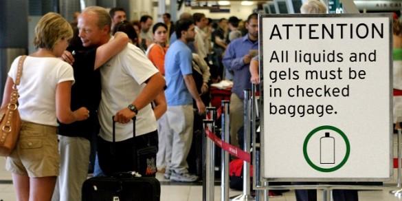 Zabrana unosa tečnosti u avion