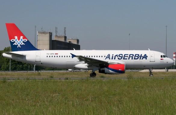 Avion avio kompanije Air Serbia