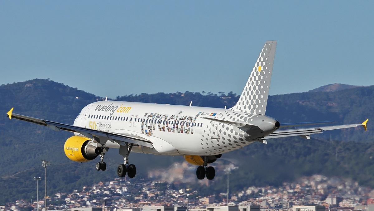 Letovi Beograd - Barselona avio kompanija Vueling