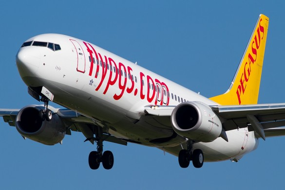 Avion avio kompanije Pegasus Airlines