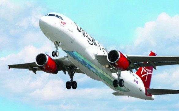 Avion avio kompanije Virgin Atlantic sa staklenim podom