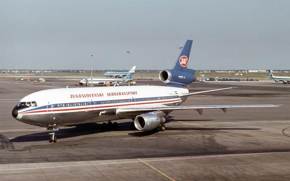 Avion Jugoslovenskog Aerotransporta u Njujorku