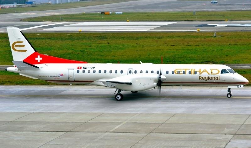 Avio kompanija Etihad Regional na linijama Air Serbia