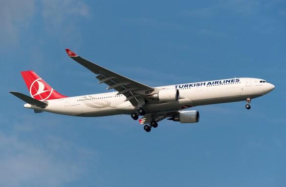Avion avio kompanija Turkish Airlines