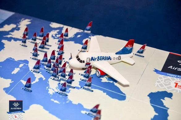 Air Serbia prvi rodjendan