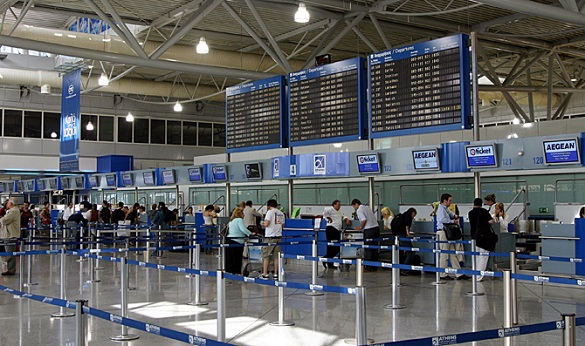 Check-in-Aerodrom