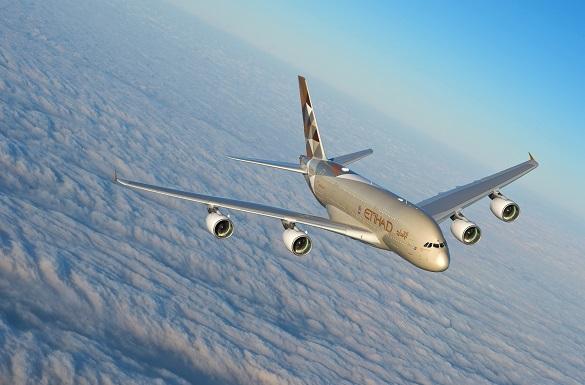 Etihad Airways avion A380