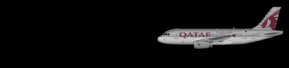 001 A319-100 Qatar