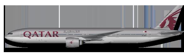 011 B777-300 Qatar