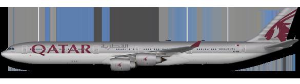012 A340-600 Qatar