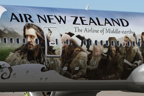 Air New Zealand boje Hobit 1