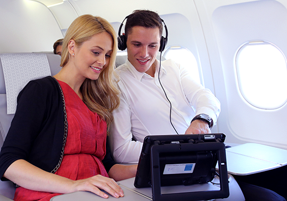 Air Serbia wireless internet