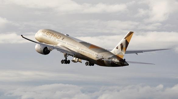 Etihad SAD letovi predkontrola Abu Dhabi