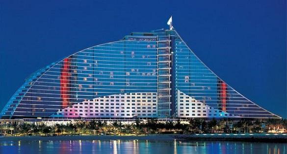 Jumeirah Beach hotel u Dubaiju