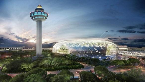 aerodrom Jewl Changai Singapur