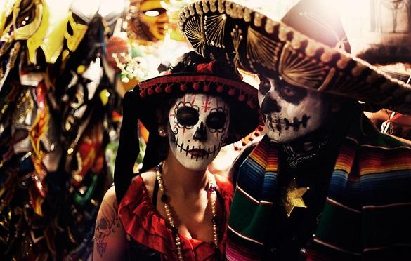 Dan Mrtvih Meksiko festival