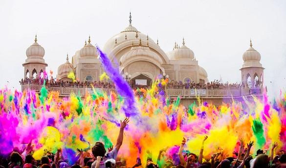 Holi festival Indija
