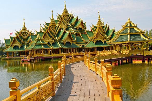 Tajland avio karte Bangkok