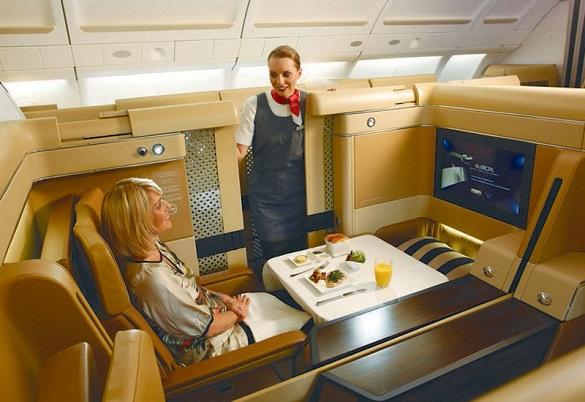 Etihad Airways avio kompanija tehnologija