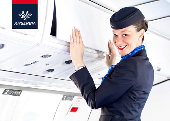 Air Serbia promo Uskrs Tivat Moskva Sarajevo Ljubljana Podgorica Tirana