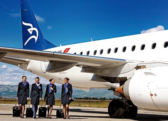 Montenegro Airlines leto 2015