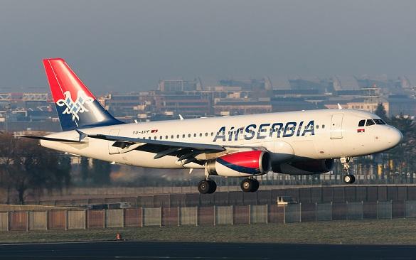 Air Serbia Beograd Split Skoplje Varna Frankfurt