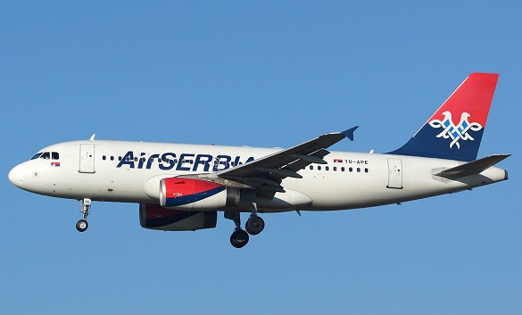 Air Serbia Happy Friday Beograd Berlin Larnaka Zagreb Brisel
