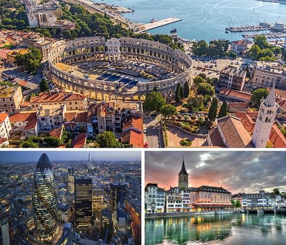 Air Serbia avio karte Beograd Pula London Cirih