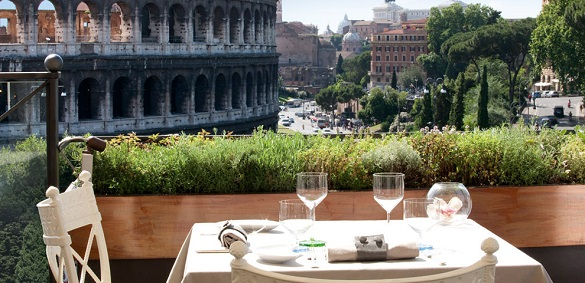 Aroma restoran Koloseum Rim