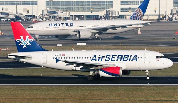 Air Serbia Happy Friday Beograd Bukurest Zagreb Larnaca Stokholm