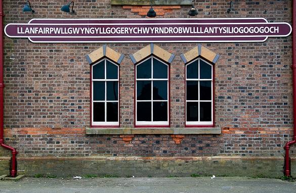 Cudna imena gradovi Vels