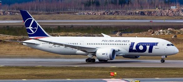 LOT Boeing Dreamliner