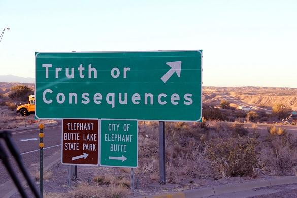 Truth or Consequences Novi Meksiko cudna imena gradova