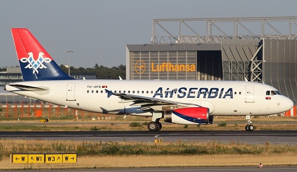 Air Serbia Happy Friday avio karte Beograd Bec Bukurest Skopje