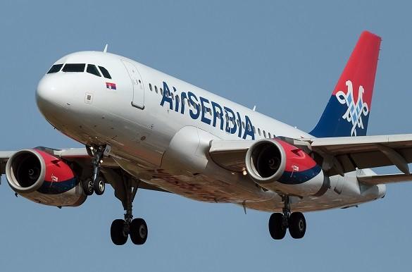 Air Serbia Happy Friday avio karte Beograd Zagreb Milano Brisel