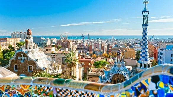 Friday Blog Najfotografisanija mesta na svetu Barselona Park Guell
