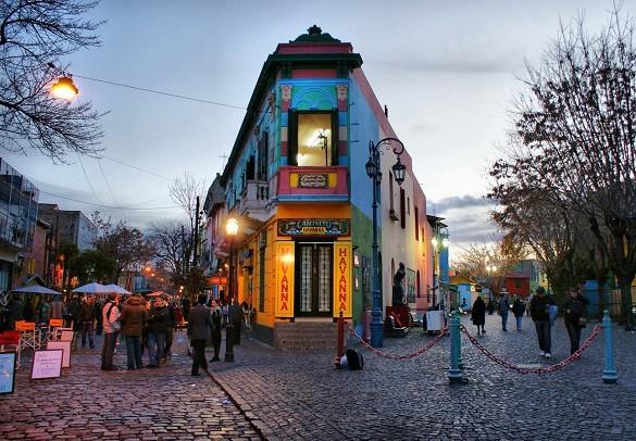 Friday Blog Najfotografisanija mesta na svetu Buenos Ajres Kaminito