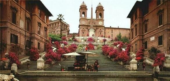Friday Blog Najfotografisanija mesta na svetu Rim Spanske stepenice