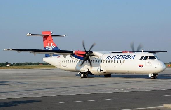 Air Serbia Online kupovina avio karata Beograd Frankfurt Tirana Brisel