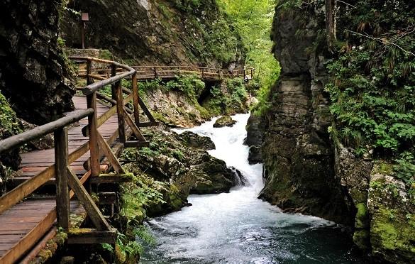 Friday Blog Probajte ovu vrstu odmora Kanjon Vintgar Slovenija