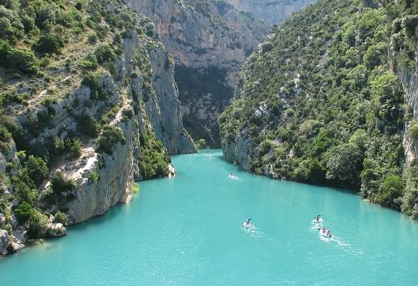 Friday Blog Probajte ovu vrstu odmora Veliki kanjon Verdon Francuska