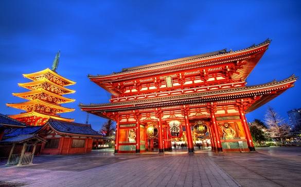 Tokio putovanje Senso Ji