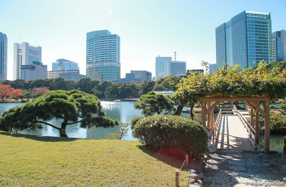Tokio putovanje Hama rikyu garden