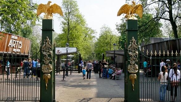 Venecija severne Evrope Amsterdam zoo