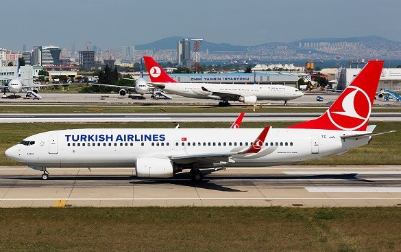 Turkish Airlines Lucky 5 oktobar Beograd Cikago Peking Hong Kong Istanbul