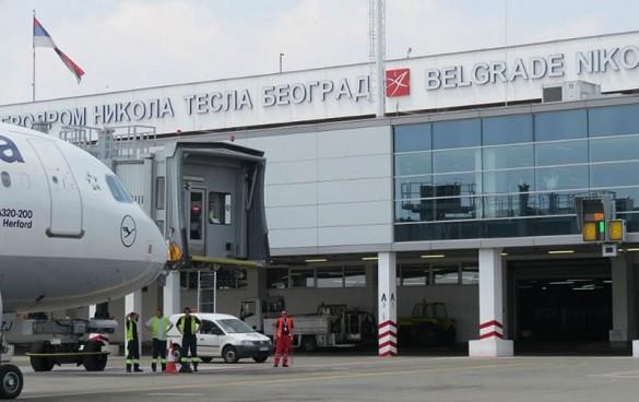 Aerodrom Nikola Tesla strane avio kompanije broj putnika