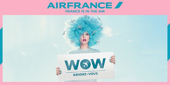 Air France WOW promo Beograd Afrika