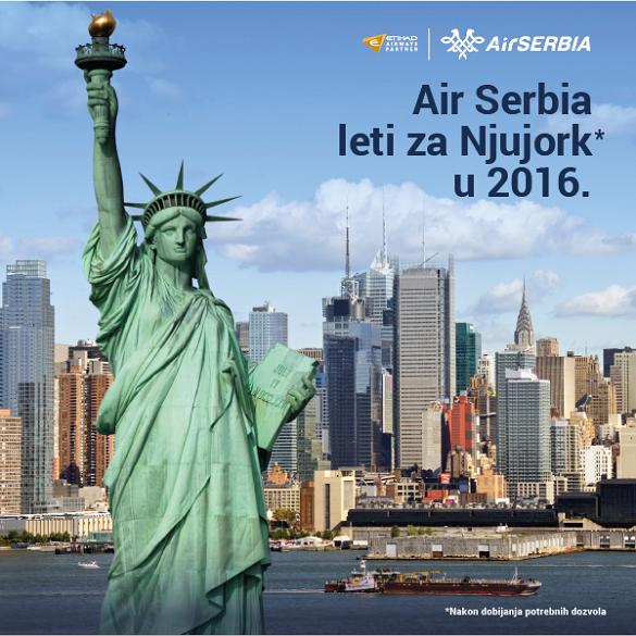 Air Serbia Beograd New York avio karte letovi